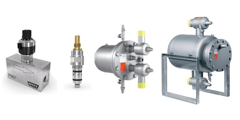 Witt Valves Gas pressure regulators & Gas pressure reducers